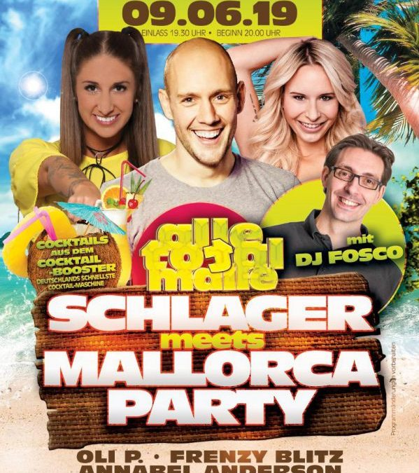 Schlager meets Mallorca Party